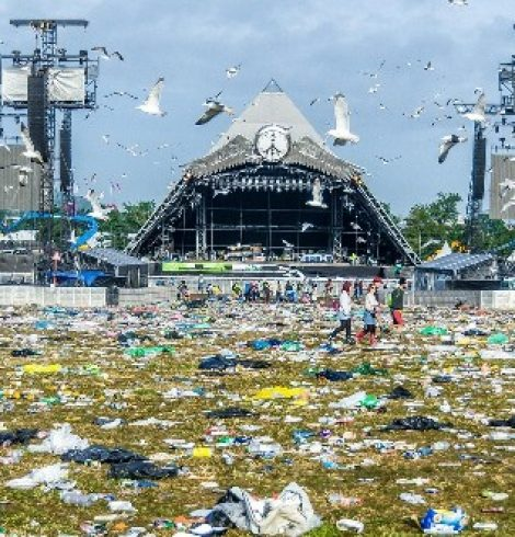 Over Ten Tonnes of Food Waste Collected at Glastonbury