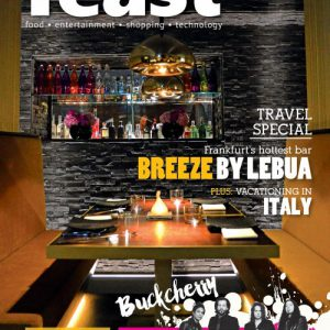 FEAST Magazine Issue 179 Cover