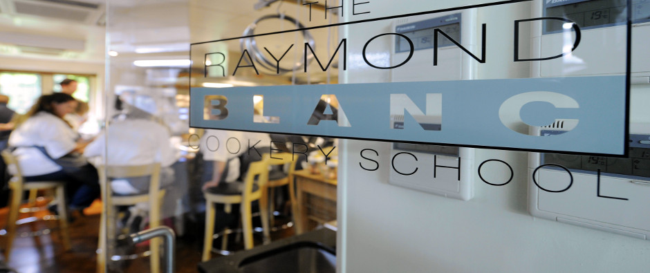 """It's About """"Garden To Plate"""" At The Raymond Blanc Cookery School"""
