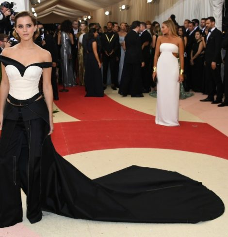 Emma Watson Met Gala Eco-Friendly Dress