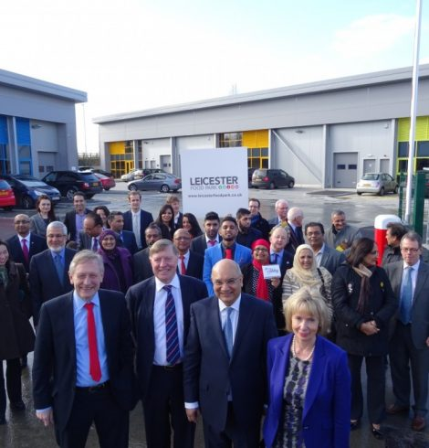 New Leicester Food Park Wins Prestigious Regional Award