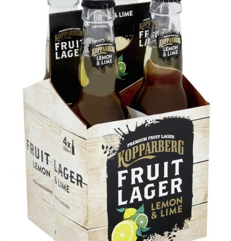 DISCOVER KOPPARBERG'S NEWEST INNOVATION: FRUIT LAGER LEMON & LIME