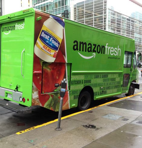 Amazon Fresh Food Delivery Launches in London