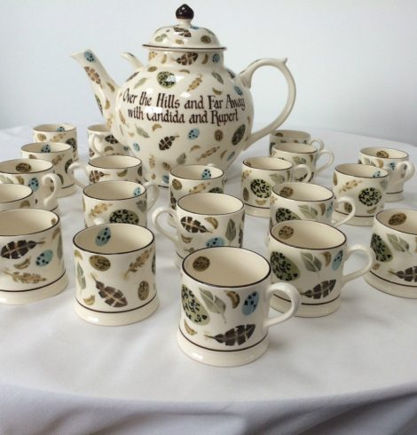Pottery Designer Emma Bridgewater Raises Money For Cancer Charity