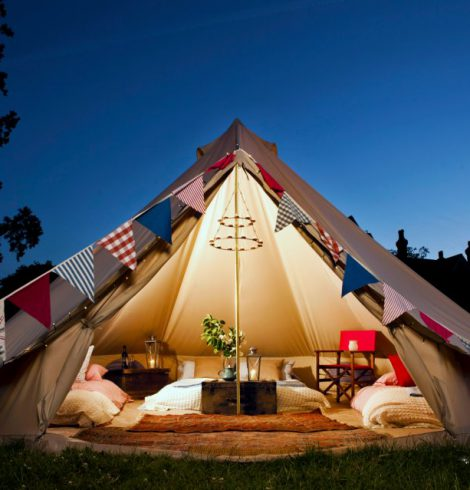 Popularity of Glamping On The Up