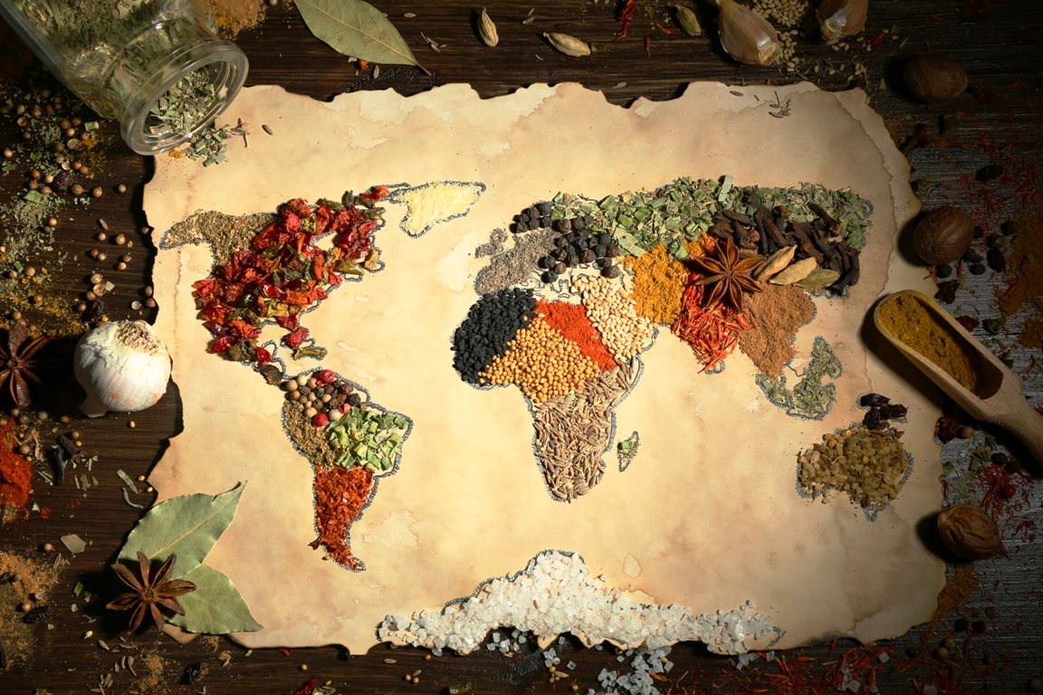 Food's Journey Across the World