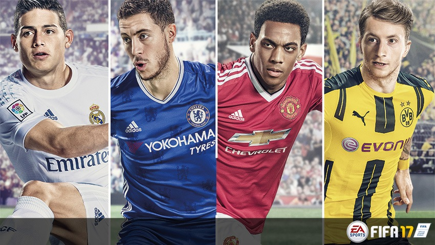 FIFA 17 Delivers Crucial Blow to PES