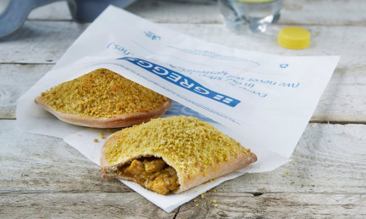 Greggs Introduces Healthier Pasties