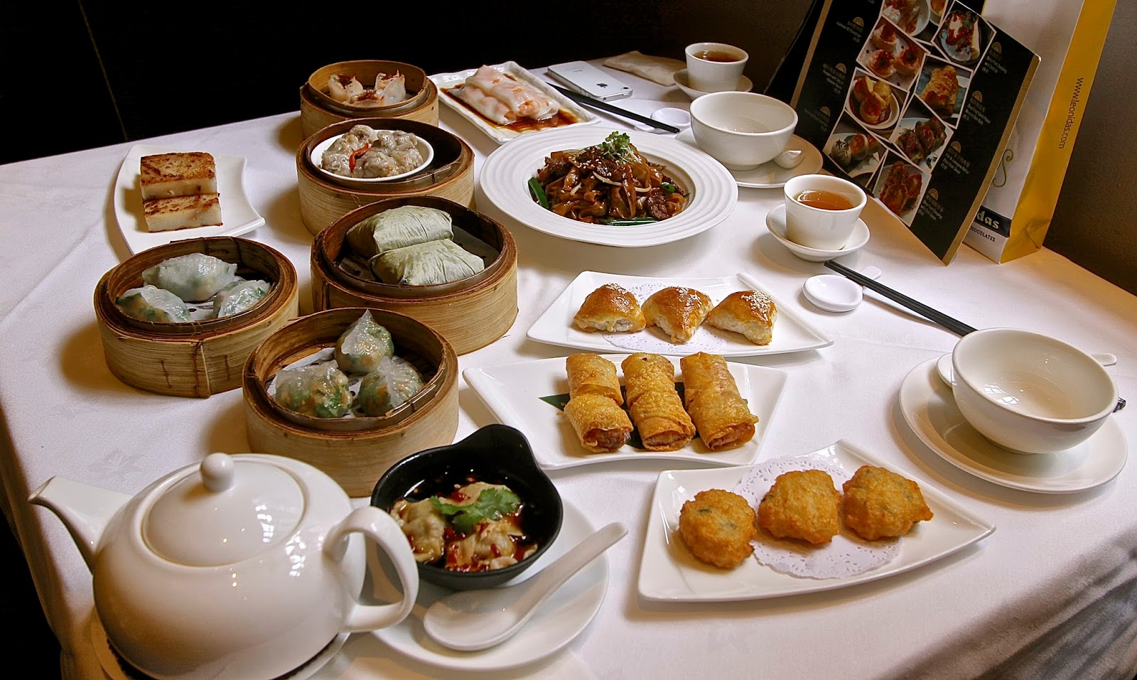 New Dim Sun Dishes Launch at Royal China Fulham