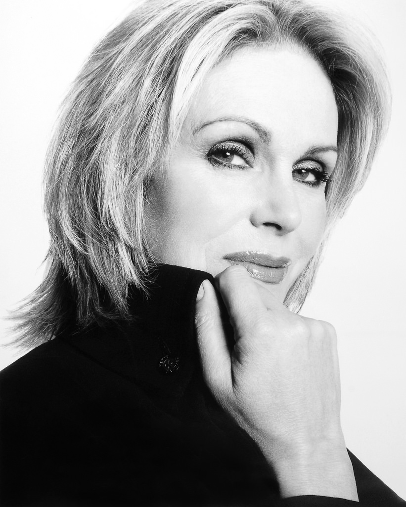 Joanna Lumley attends 'topping out' ceremony at new opera house