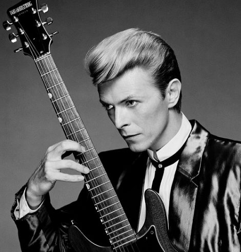 David Bowie is Still Claiming our Hearts winning Two Brit Awards