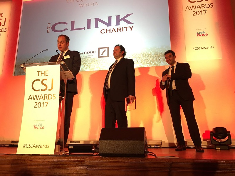 The Clink Charity awarded 'Social Enterprise Award' and £10,000 prize by the Centre for Social Justice