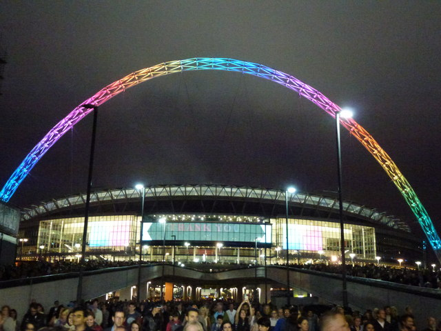 The Greatest Events at Wembley Stadium