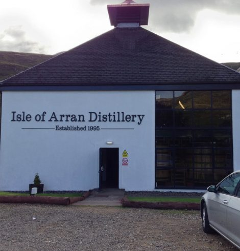 Arran Distillery at Lochranza Revealed a Record Number of Visitors Last Year