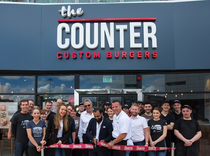 LA Premium Burger Restaurant Has Recently Opened Their First Restaurant In the UK