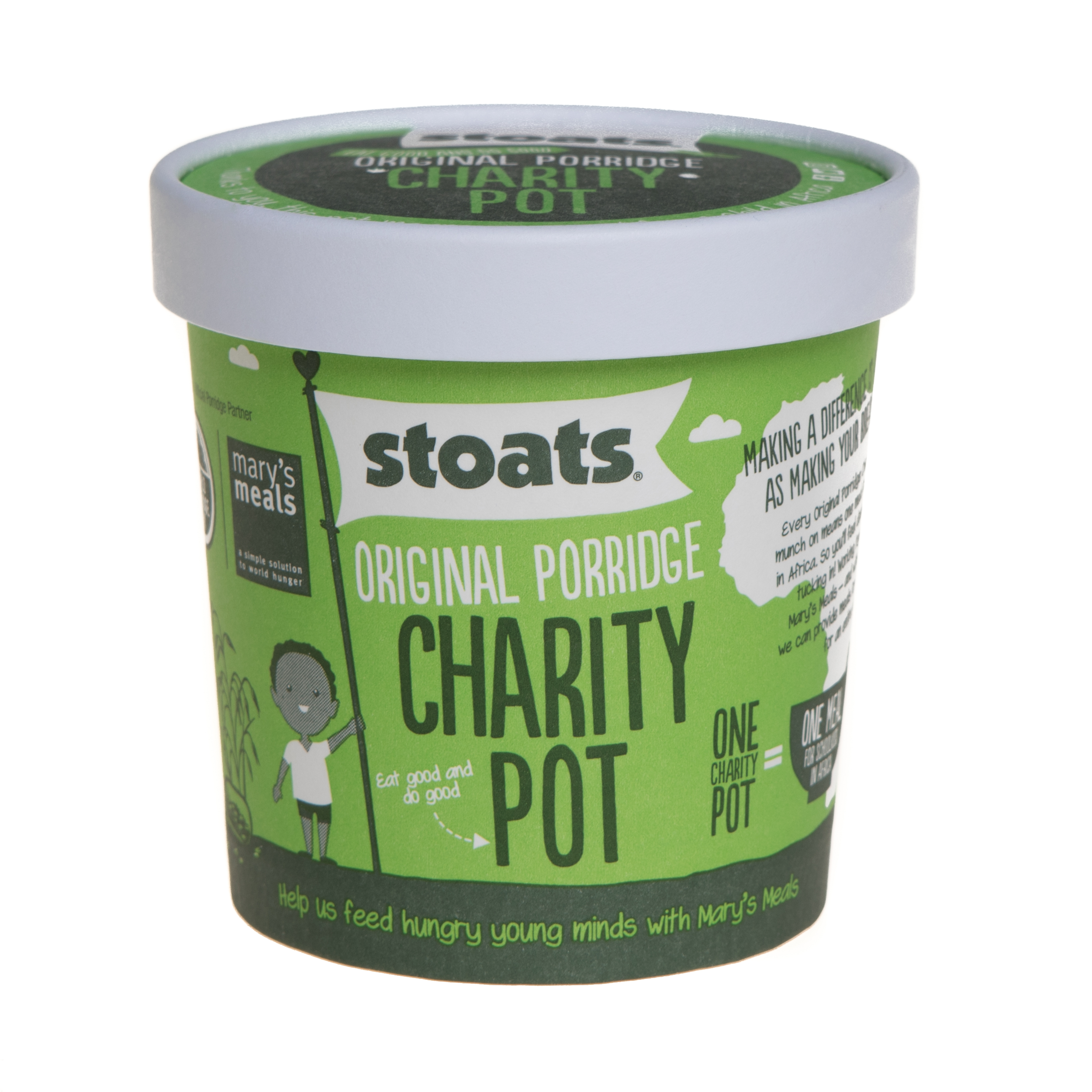 Stoats and Mary's Meals team up for fundraising