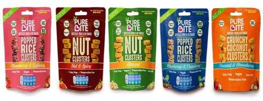 Bite UK Launches new Snack Range