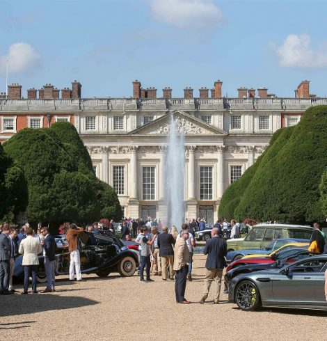Hampton Court Palace to Host Concours of Elegance Until 2021