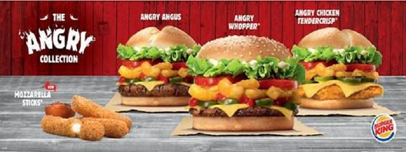 Burger King™ Re-Releases The Angry Collection for Limited Time Only