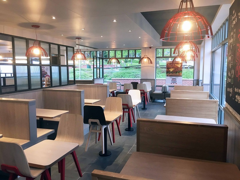 Rpa:group Lead Designer and Contract Administrator for new KFC Store Design