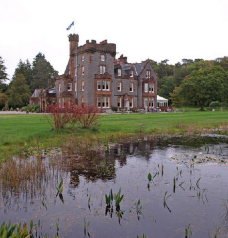 Isle of Eriska Hotel Joins Luxury Scotland