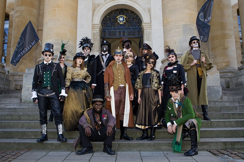 The Alchemist's Spectacle in Oxford
