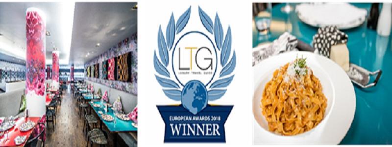 Cucina Awarded as the Italian Restaurant of the Year