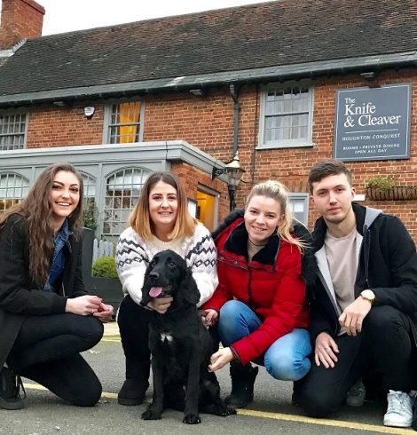 Unique Hospitality Management Fundraisers for Dogs Charity