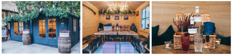 Mac & Wild Launch Highland Winter Hunting Lodges in London