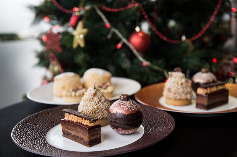 Festive Afternoon Tea at The Club Hotel & Spa