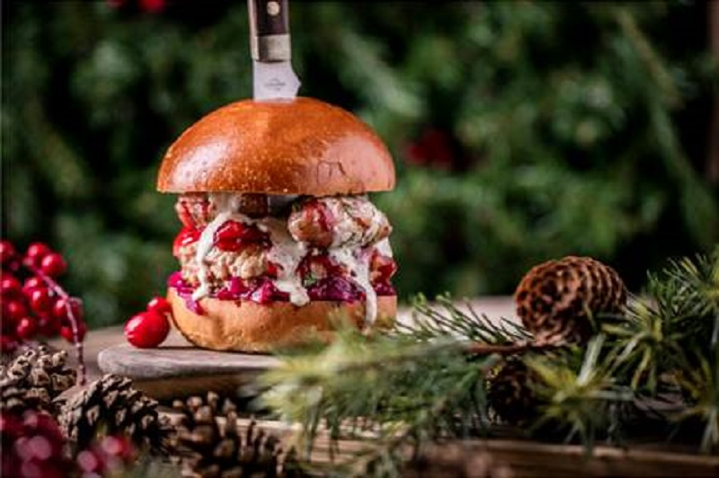 Festive Flavoured Burgers Available Now
