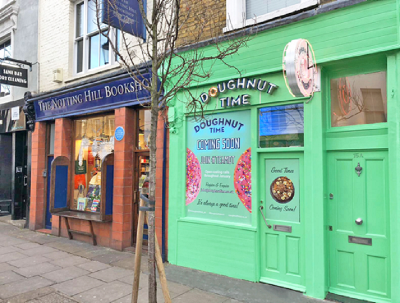 Doughnut Time Will Offer Free Donuts in Notting Hill