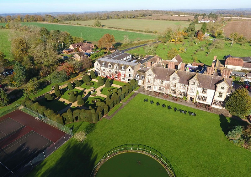 Billesley Manor Offers B&B Giveaway this Valentine's