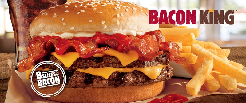 Burger King Launches Bacon King