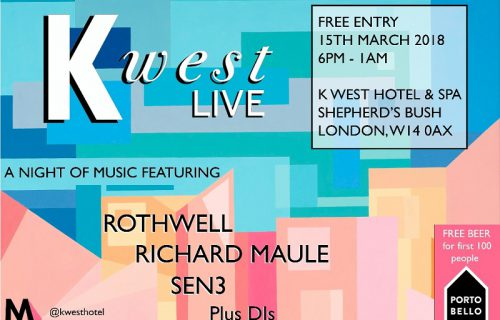 K West Live Launches Monthly Music Nights