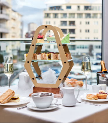 'Travel Through Time' Afternoon Tea at Chelsea Harbour Hotel