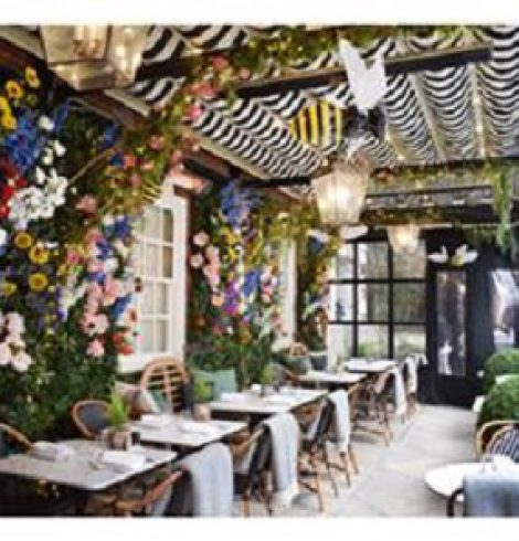Dalloway Terrace Is Ready for Spring