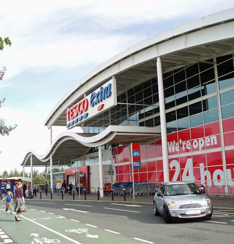 Tesco Supports Veg Power Campaign