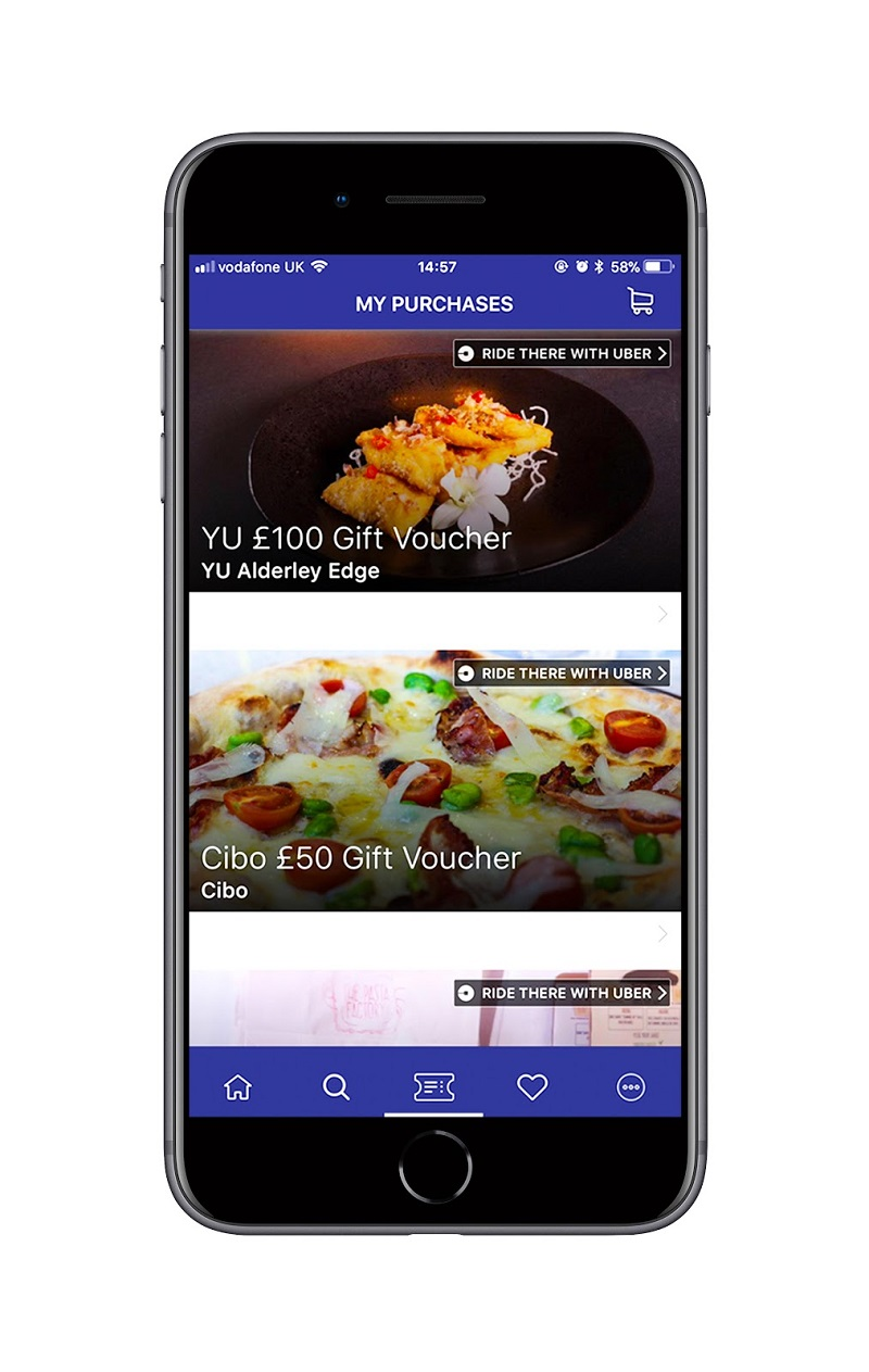 Save up When Eating out with Confidentials Group App