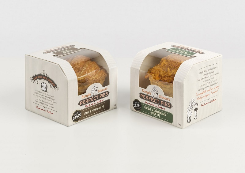 New Packaging at Simple Simon's Perfect Pies