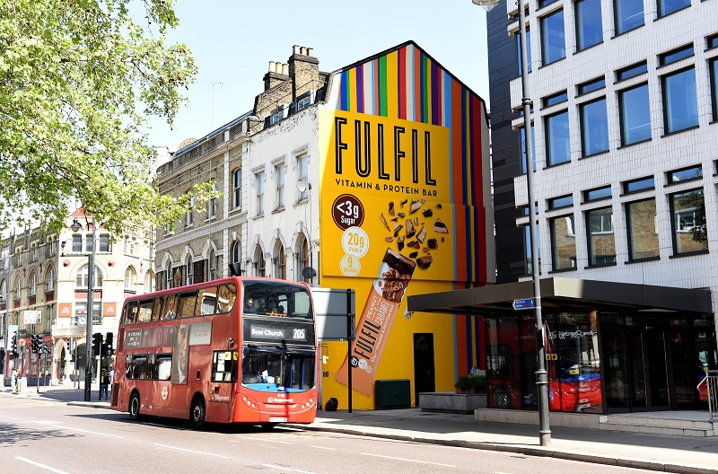 Fulfil's New Campaign to Educate on Protein Bars