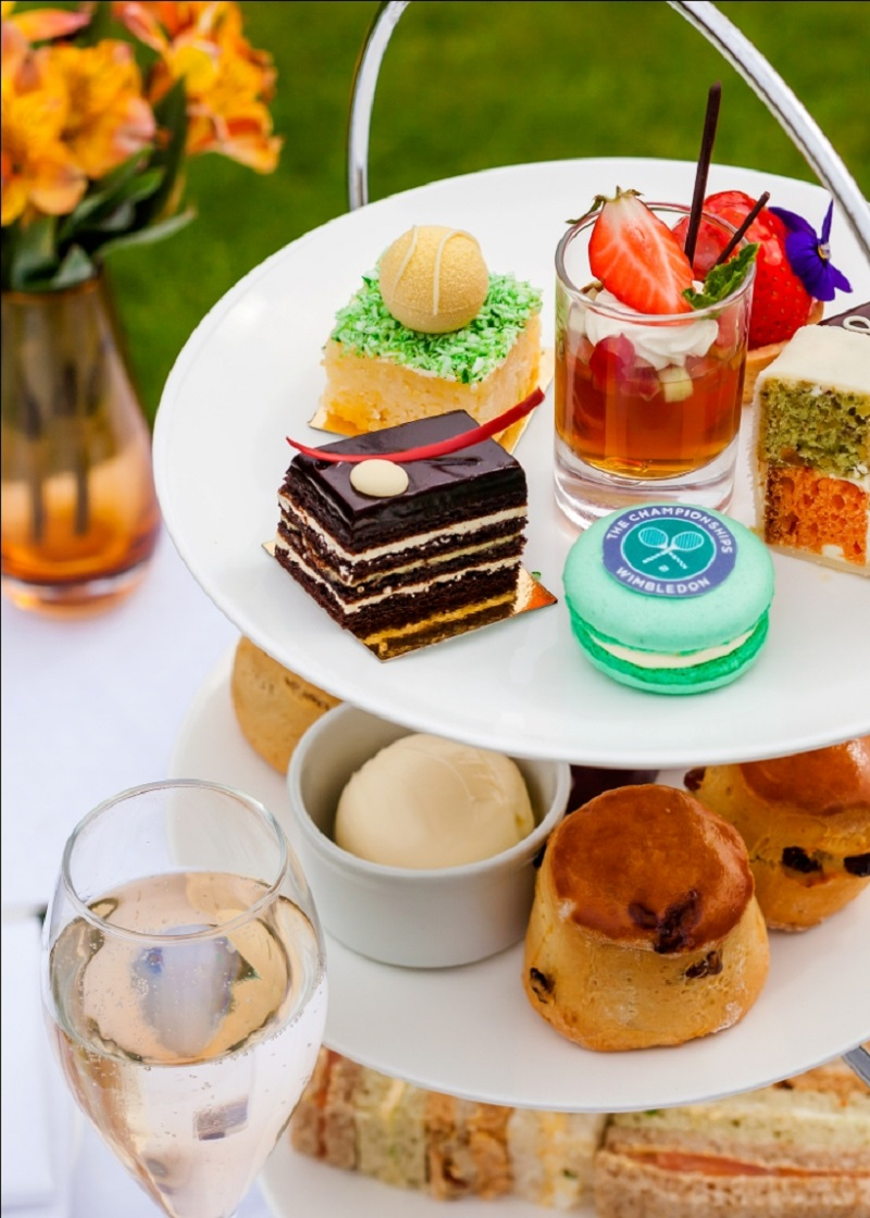 Wimbledon Afternoon Tea at Sopwell House