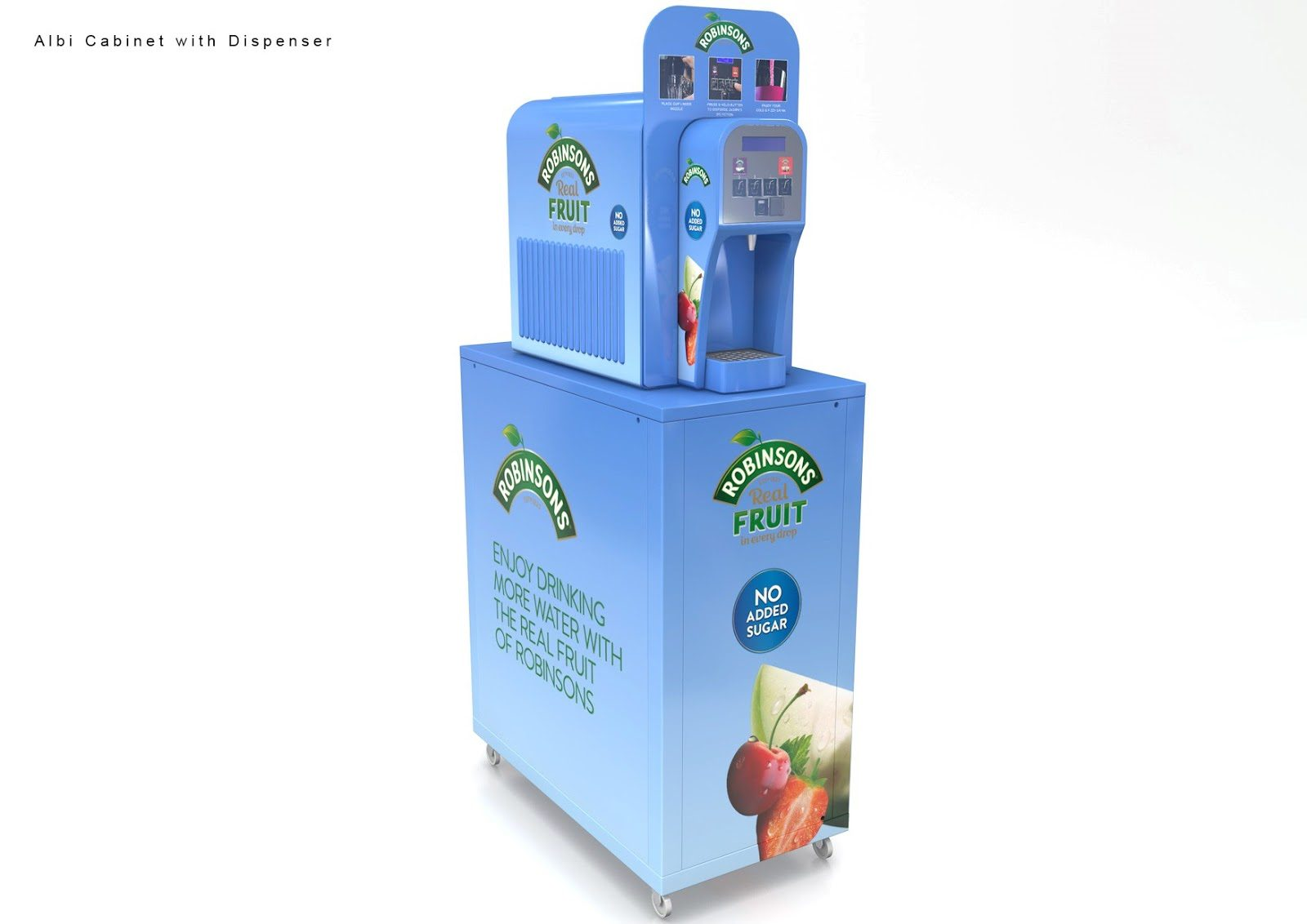 Juice Dispenser and New Flavours at Robinsons