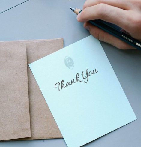 What to Write in a Thank-You Card