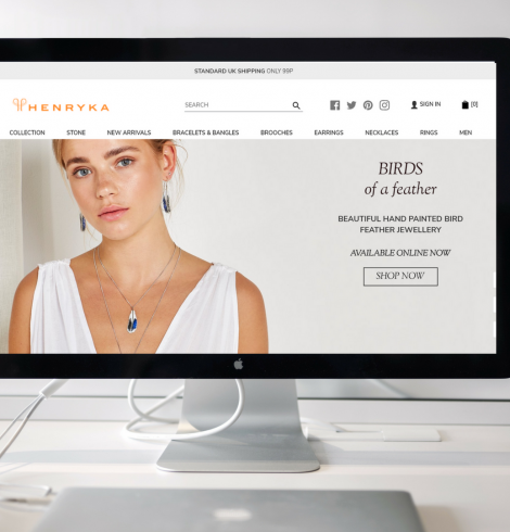 Henryka Launches New Website