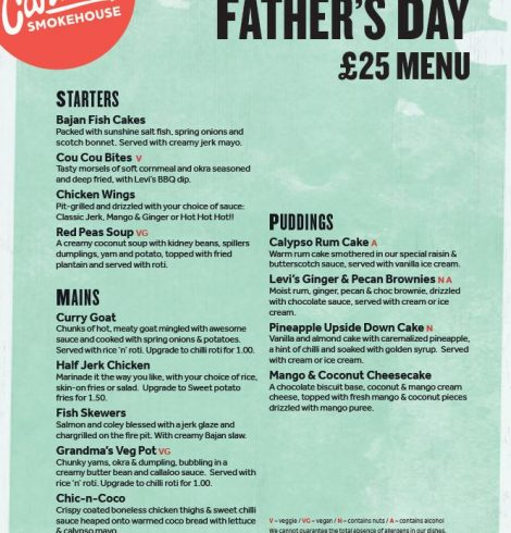 Father's Day at Levi Roots