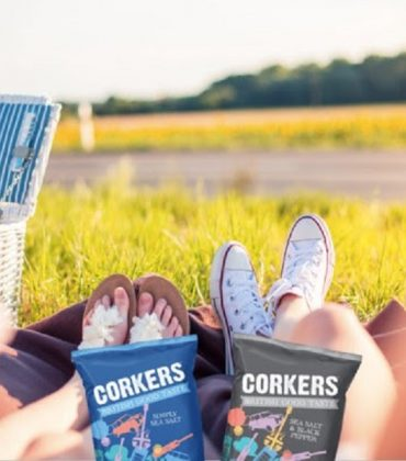 Corkers Crisps Are the Perfect Summer Snack
