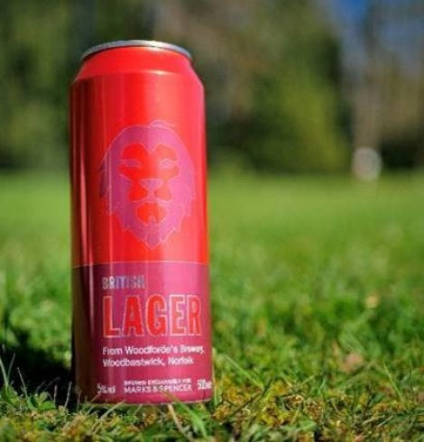 Woodforde's Brewery New Lager