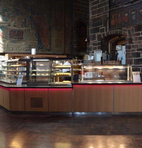Victor Manufacturing Refurbishes Chester Cathedral Café