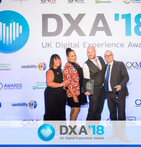Novus Wins Award at the UK Digital Experience Awards